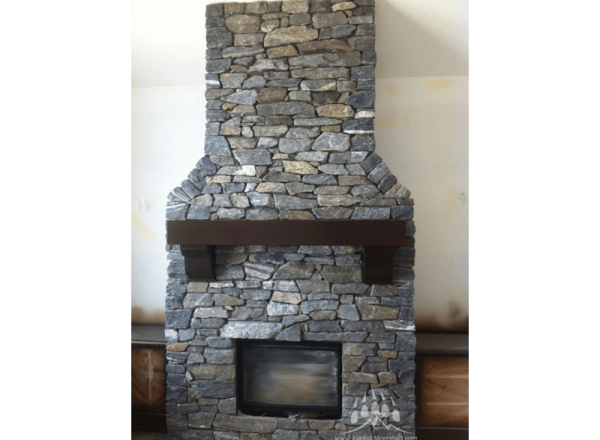 stone fireplace png