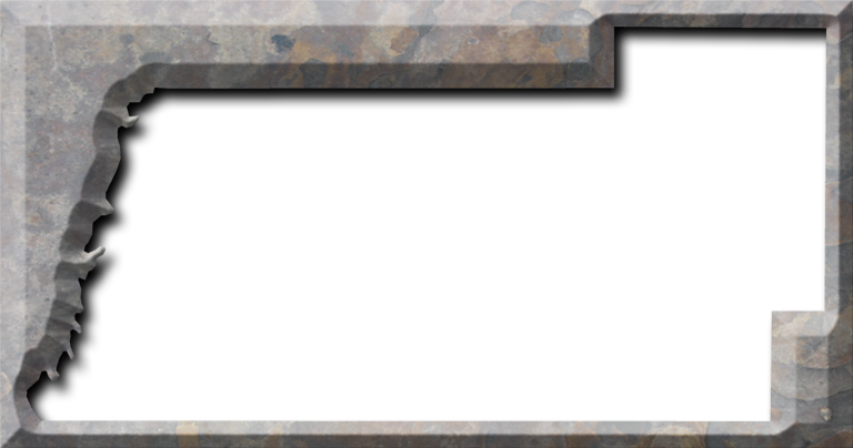 Stone frame png. Pasco fancy style maps