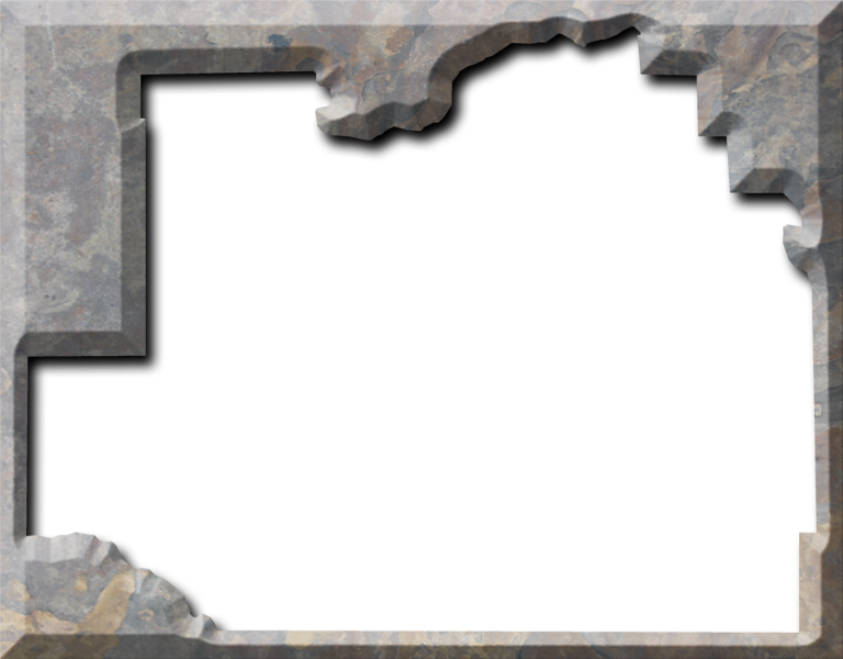 Stone frame png. Marion fancy style maps
