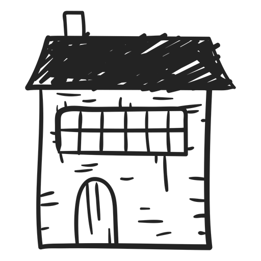 Stone hand png. House drawn icon transparent