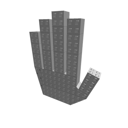 Stone hand png. Roblox