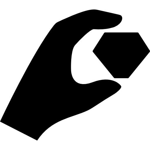 Stone hand png. Precious icon page svg
