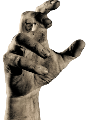 Stone hand png. Punch the rabbit book