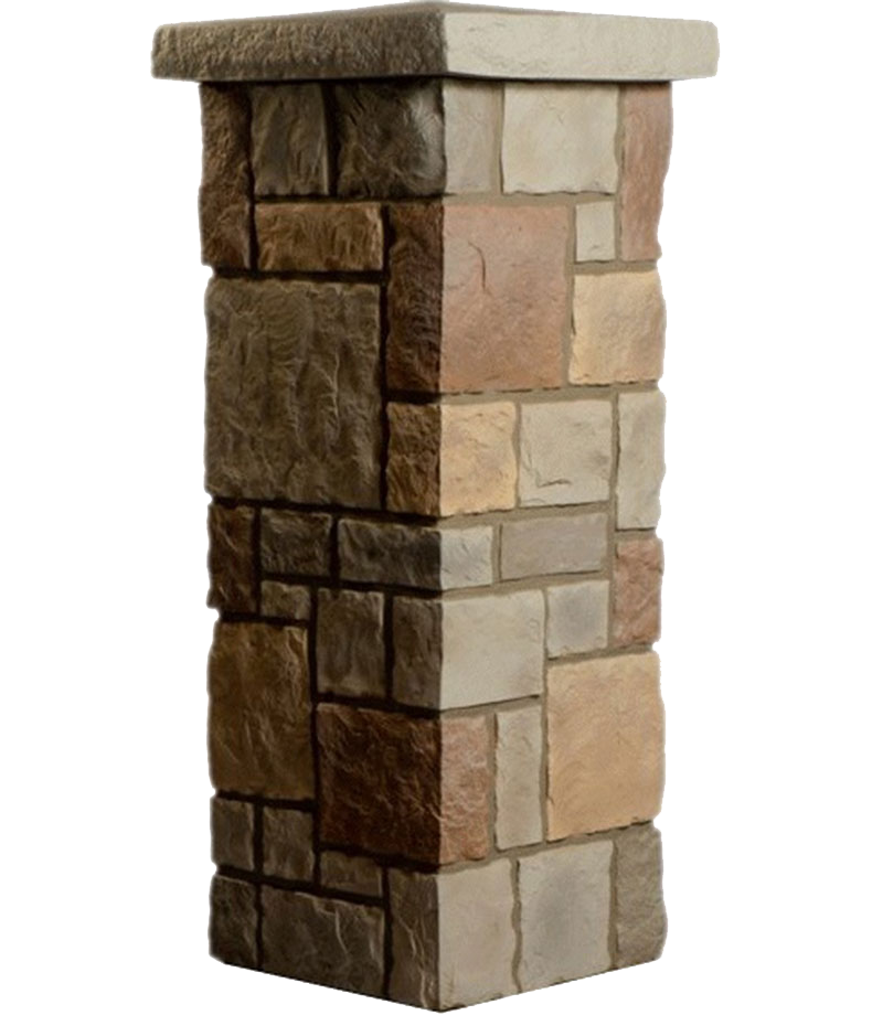 Stone pillar png. Theothersignco columns post covers