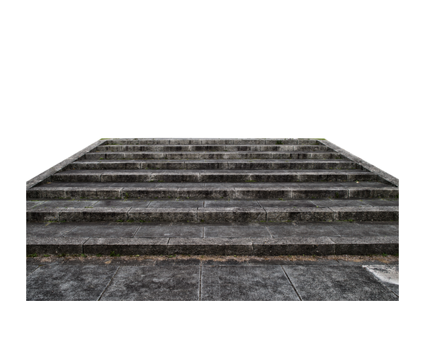 Stone stairs png. Icon dark staircase ladder
