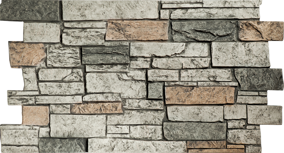 Stone wall png. Taupe gray panels decor