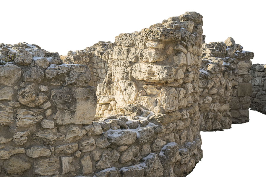 Stone wall png. Of chersonesos by volklarson