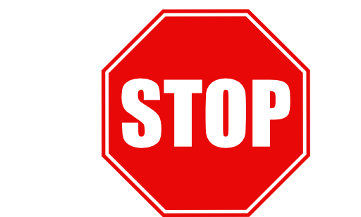 Stop clipart. Sign free