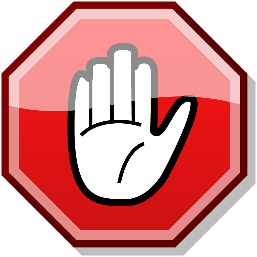 Stop vector señal. Png clipart collection sign