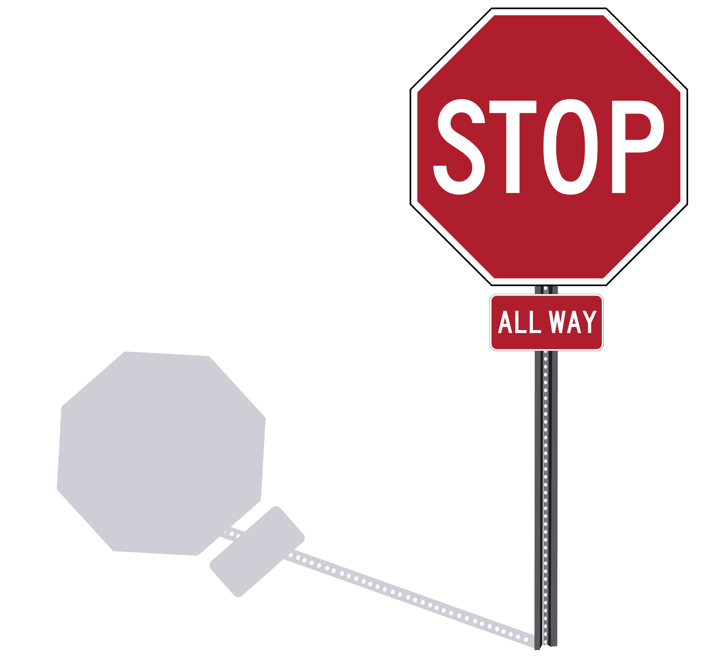Stop sign clip art png. On post icons free