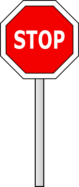 Sign transparent pictures free. Stop vector png graphic black and white stock