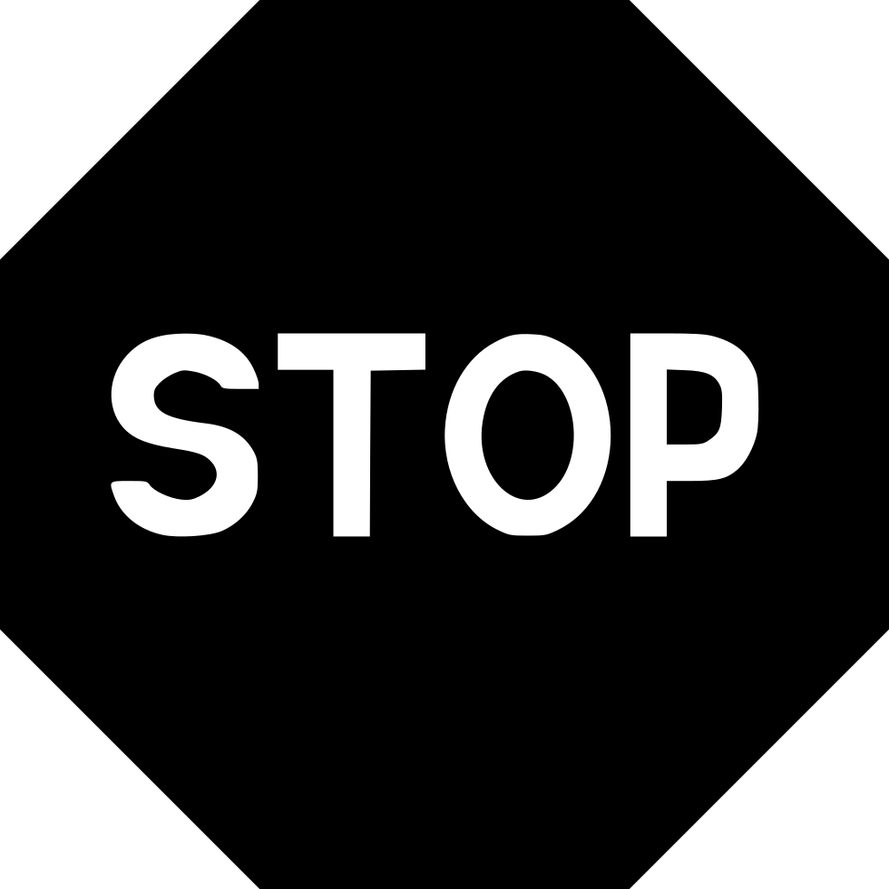 Stop sign icon png. Svg free download onlinewebfonts