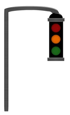 stoplight clipart car light