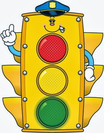Stoplight clipart cute. Airplane police car fire