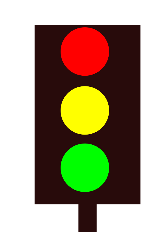 Stoplight clipart printable. Traffic light best
