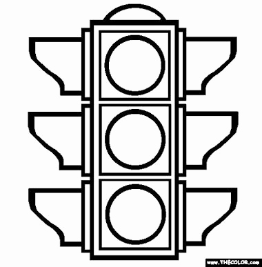 Stoplight clipart printable. Stop lights beautiful traffic