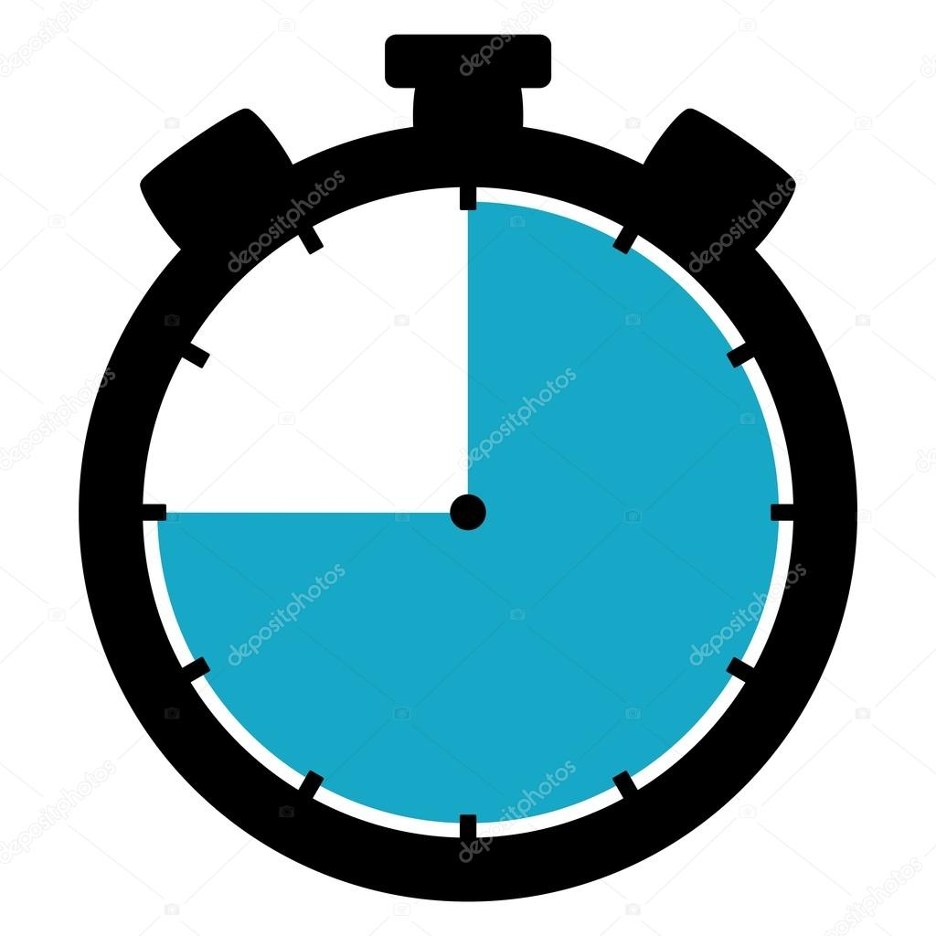 stopwatch clipart 10 second