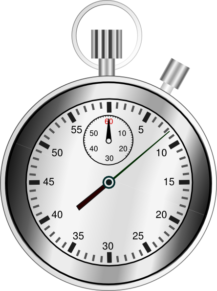 stopwatch transparent svg