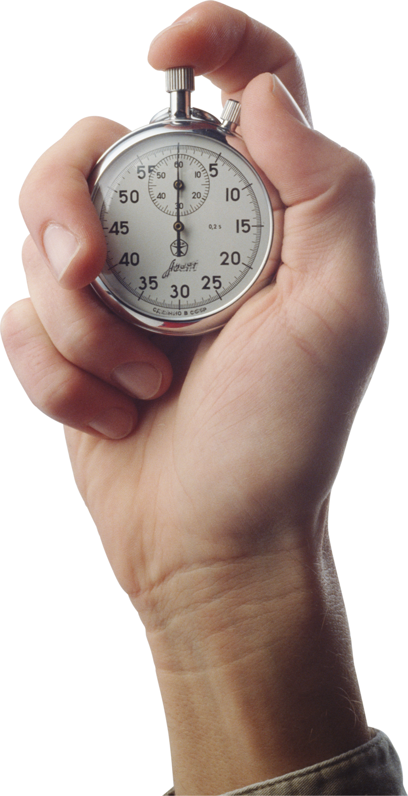 Stopwatch transparent clock. Download free png in