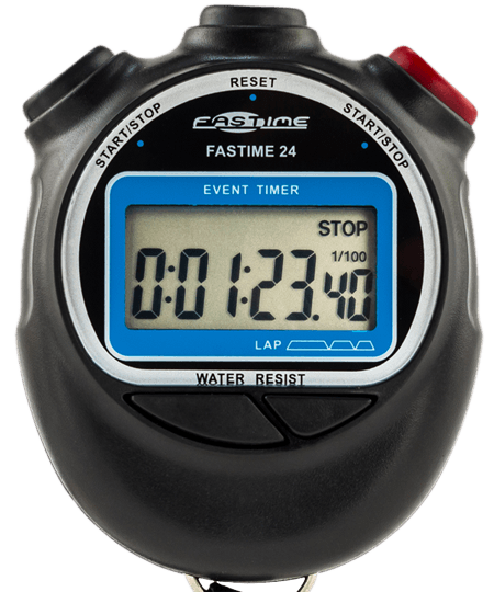 Stopwatch transparent large display. Greyhound racing stopwatches single