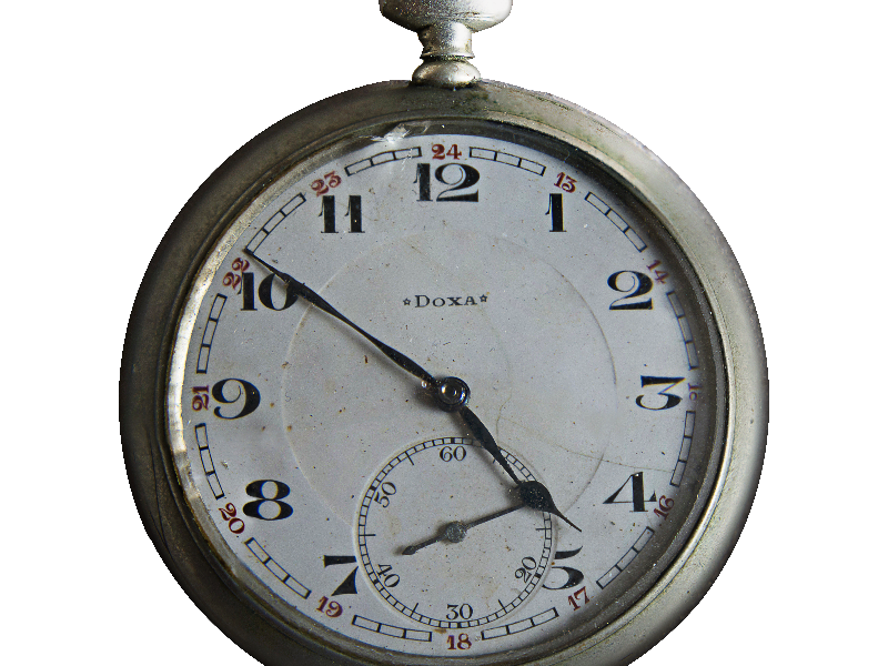 Stopwatch transparent old. Pocket watch png isolated