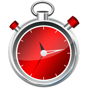 Stopwatch transparent red. Timer clipart best free