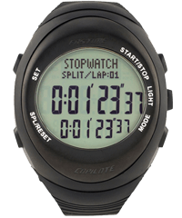 Stopwatch transparent sport. The specialists fastime digital