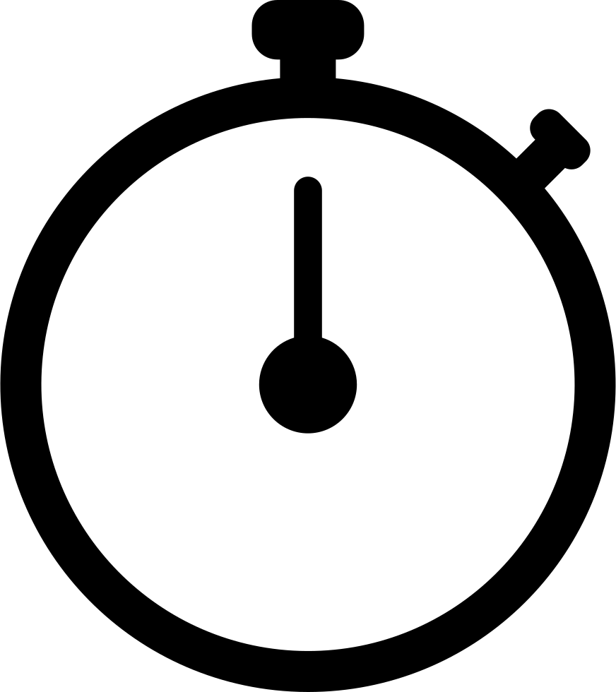 Stopwatch transparent svg. Png icon free download