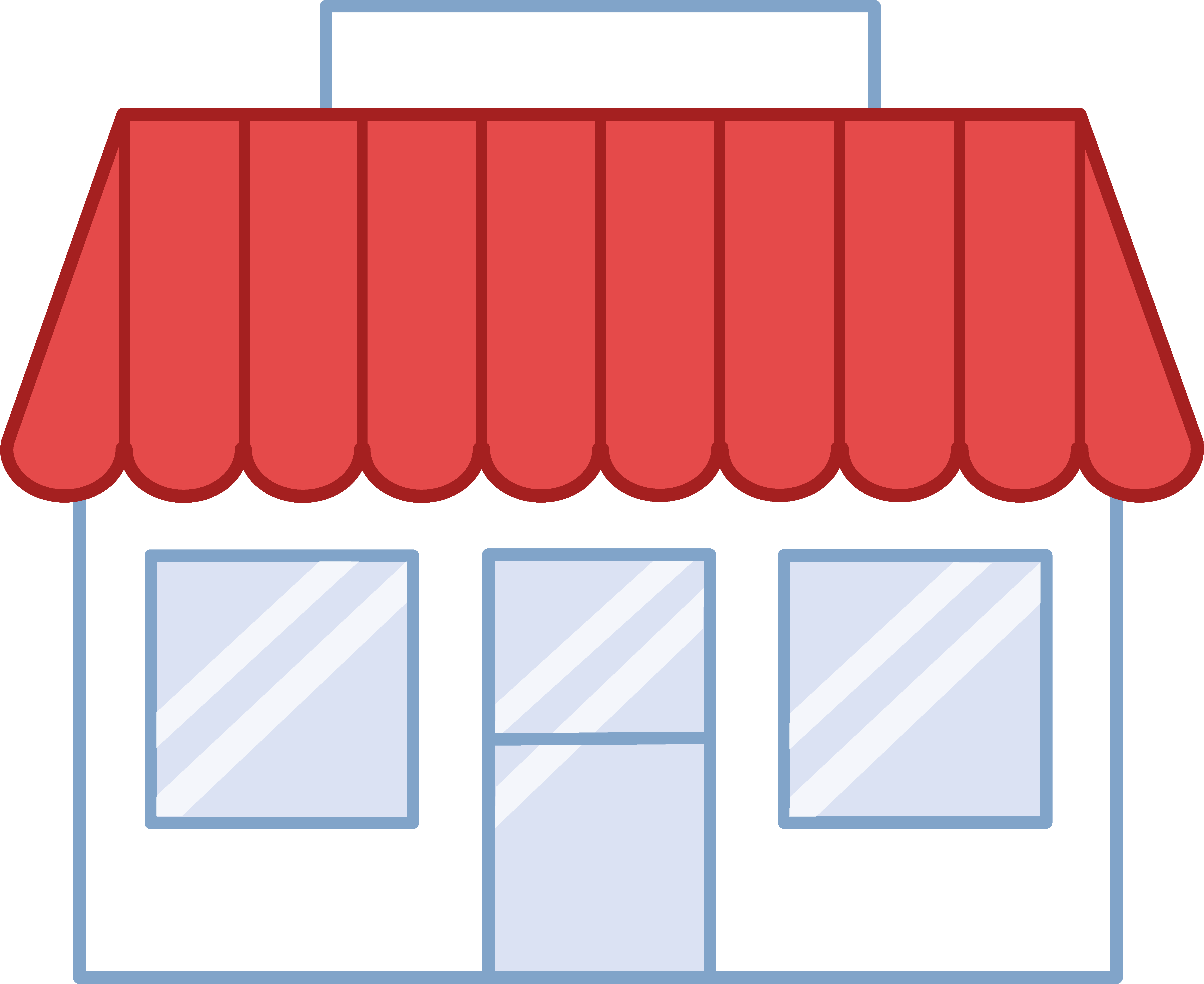 storefront vector store sign