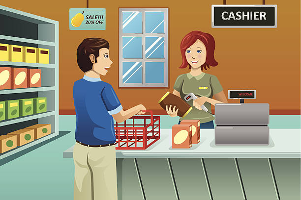 Store clipart checkout. Grocery group clip art