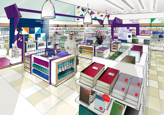 Store stationery store