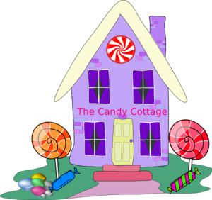 storefront clipart candy shop