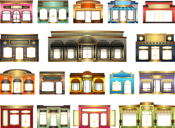 Storefront clipart french window. Backgrounds hdq awesome live