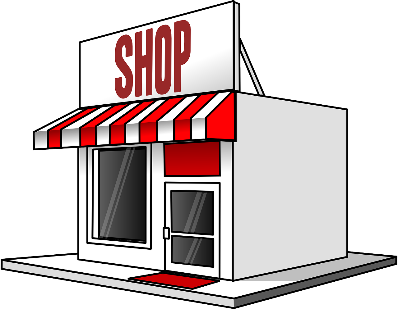 Storefront vector old fashioned. Clipart mini store frames