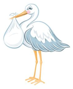 Stork clipart party. Google search b pinterest