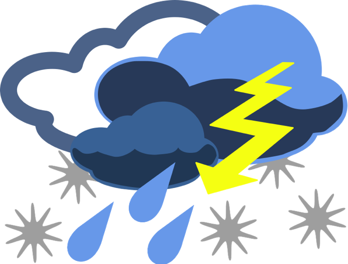 Storm clipart cute. Weather graphics of wind