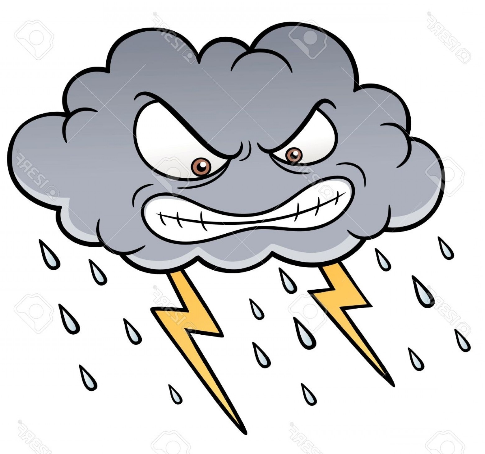 weather clipart stormy weather