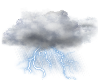 Thunderstorm transparent images all. Lightning clouds png vector black and white