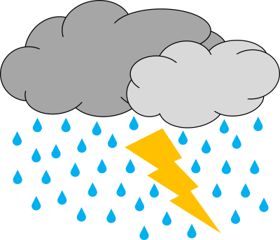 Storm clouds clipart png. Download thunderstorm free transparent
