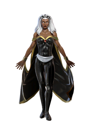 Storm marvel png. Character token heroes omega