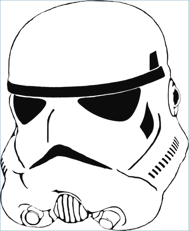 Stormtrooper clipart. Star wars coloring pages