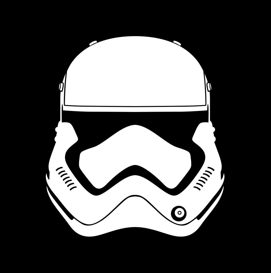 Stormtrooper clipart simple. Drawing helmet at getdrawings