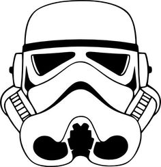 Stormtrooper clipart step by step. How to draw a