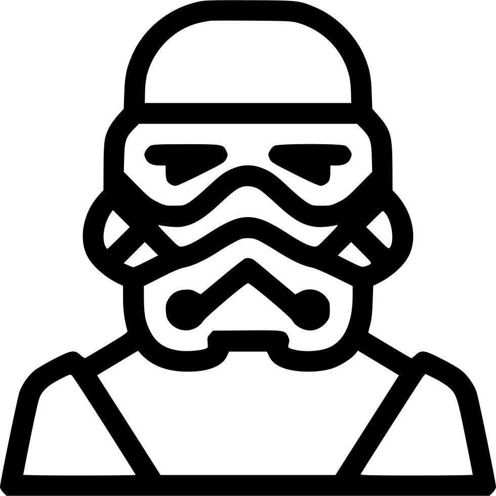 Stormtrooper svg. Png icon free download