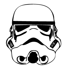 Stormtrooper svg black and white. Sherard allen uploaded this