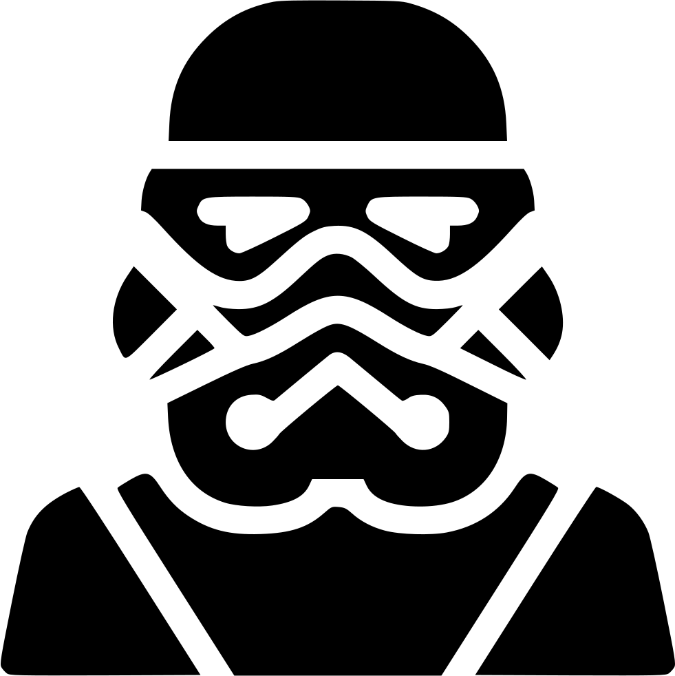 Stormtrooper svg file. Png icon free download
