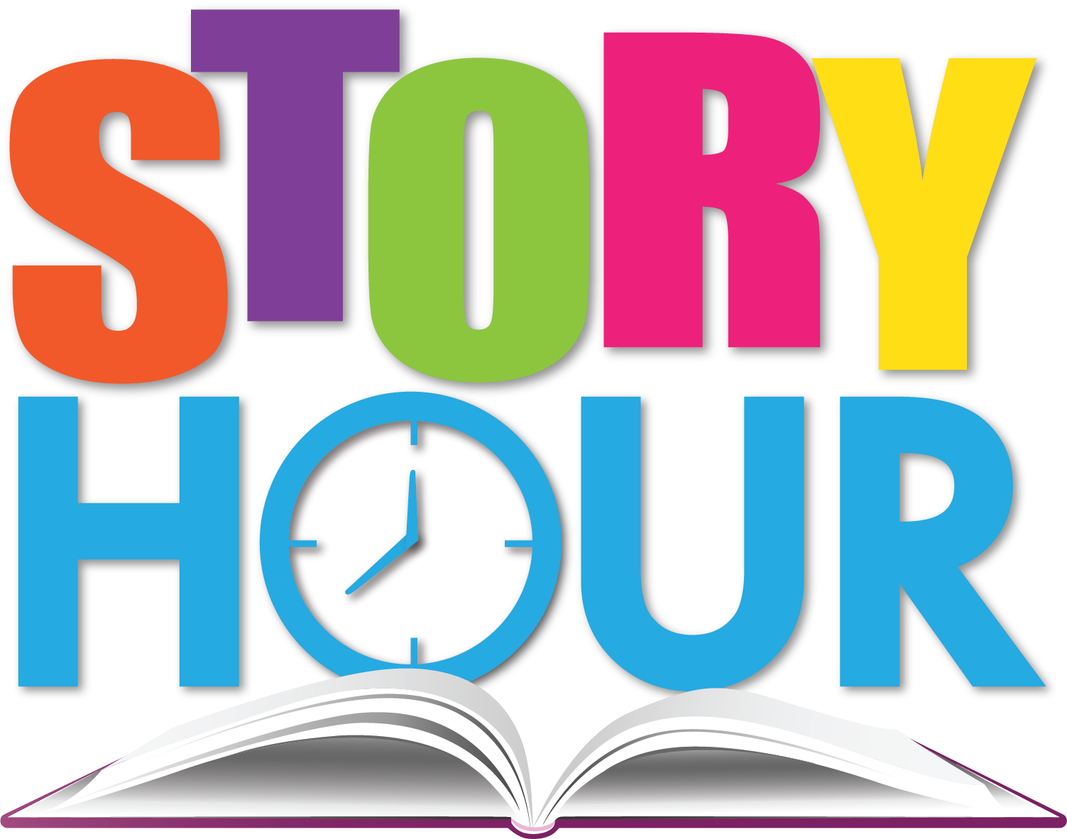 Story clipart story hour. Time begins wednesday september