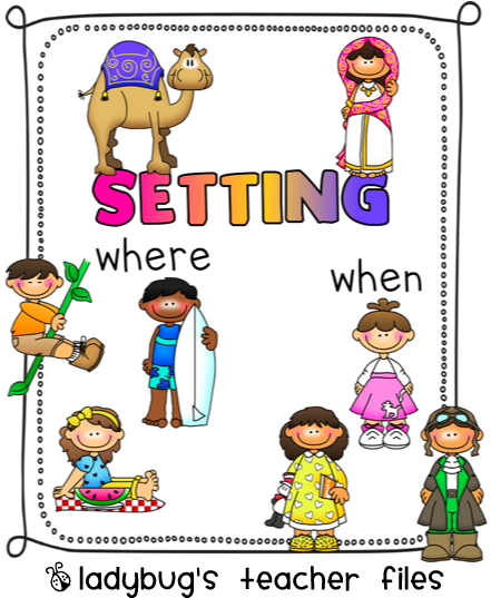 Elements lessons tes teach. Story clipart story setting stock