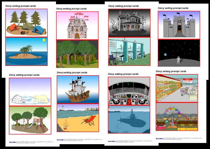Story clipart story setting. Ks free prompts and