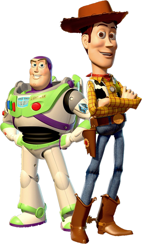 Buzz transparent clipart. Toy story woody and